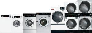 Coin operated washing laundry equipment distributor